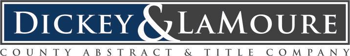 Dickey County Abstract Logo
